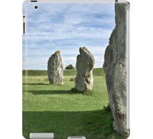 Avebury neolithic stone circle Wiltshire iPad Case/Skin