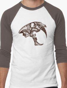 Sabre Tooth Tiger Skull Men's Baseball ¾ T-Shirt