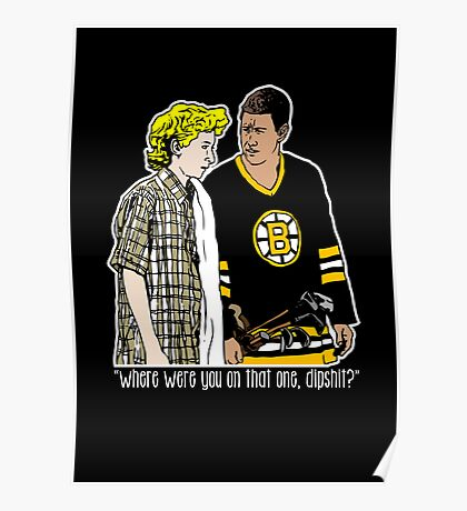 """Happy Gilmore - """"Where were you"""" Poster"""
