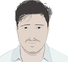 Marcus Mumford Illustration by aidancooke