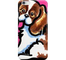 Cute Blenheim CKCS iPhone Case/Skin