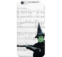 Try Defying Gravity iPhone Case/Skin