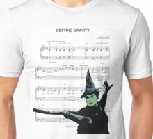 Try Defying Gravity Unisex T-Shirt