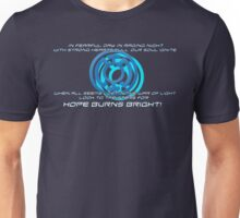 Blue Lantern's light Unisex T-Shirt
