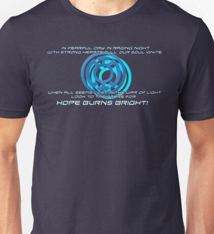 Blue Lantern's light Unisex T-Shirt