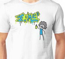 Albert Einstein Graffiti Doodle Unisex T-Shirt