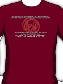 Red Lantern's Light T-Shirt