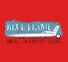 Blue Flame Land Speed Record Car Baby Tee
