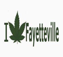 0255 I Love Fayetteville  by Ganjastan