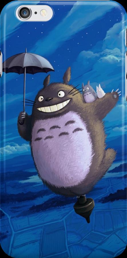 Totoro on his toupie by Totorooo