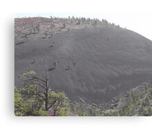 Ash Mountain Canvas Print