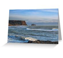 South coast of Iceland Greeting Card