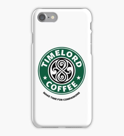 """""""Timelord Coffee"""" Phone Case iPhone Case/Skin"""