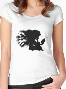 Let her go Women's Fitted Scoop T-Shirt