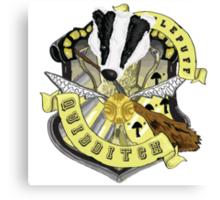 Hufflepuff Quidditch Pride Canvas Print