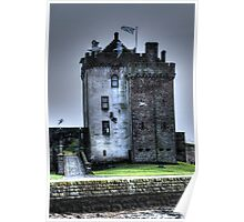 Broughty Castle Poster