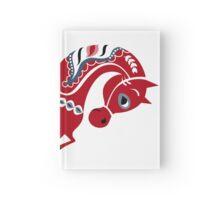 Dala horse  Hardcover Journal
