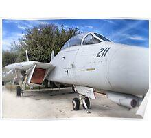 Retired Fighter Jet Poster