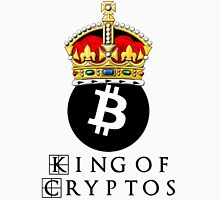 Bitcoin King Of Cryptos Unisex T-Shirt
