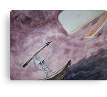 Ahab's Prize Canvas Print