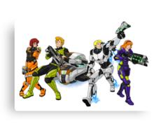 X-COM's Mystery Gang Canvas Print