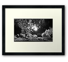 ©HCS Infrared Touch IAc Monochromatic Framed Print