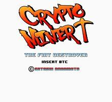 Bitcoin Crypto Miner Retro Game Design Unisex T-Shirt