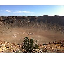 Meteor Crater Photographic Print