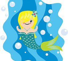 cute mermaid by Kopfzirkus