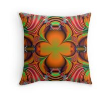 Colorful Bugs Throw Pillow