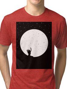 MOON GIRL Tri-blend T-Shirt