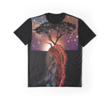 African Elephant Preistess Graphic T-Shirt