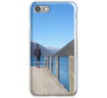 solitude, lakeside, New Zealand iPhone Case/Skin
