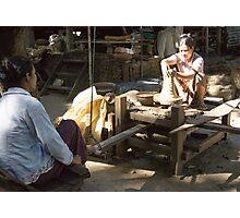 pottery wheel Photographic Print