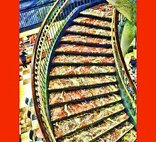 Staircase in Union Station, Washington DC by Jack McCabe