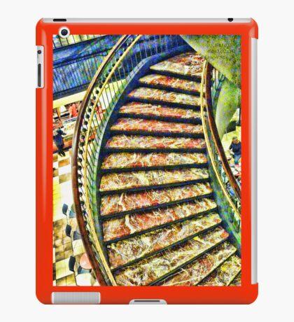 Staircase in Union Station, Washington DC iPad Case/Skin