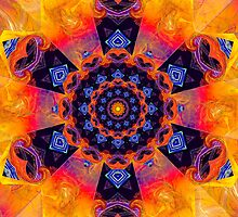 Windmill Mandala by LudaNayvelt