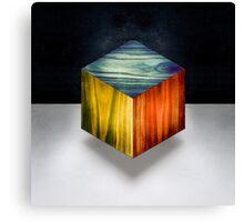 RGB Cube Canvas Print