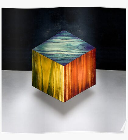 RGB Cube Poster