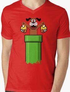 Flapp Hunt Mens V-Neck T-Shirt