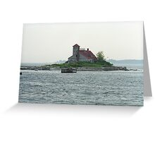 Lighthouse Island - Portland, Maine Greeting Card