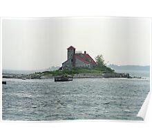 Lighthouse Island - Portland, Maine Poster