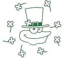 Happy St. Patricks Day Comic Frog Design by Style-O-Mat