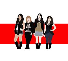 The Pretty Little Liars Photographic Print