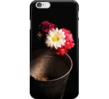 Bucket of Flowers iPhone Case/Skin