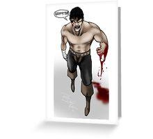 Berserk: Guts Greeting Card