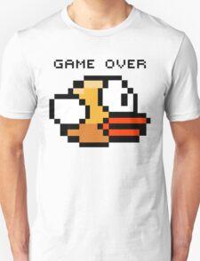 Flappy Bird Game Over Unisex T-Shirt