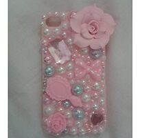 iPhone 5 Pink Rose Case by charlyswahn