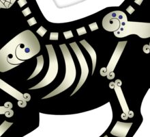 Day of the Dead Puppy Sticker