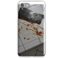 Cleaver  iPhone Case/Skin